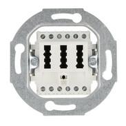 Rutenbeck TAE sockets for analogue networks TAE 2x6/6 NFN FM pure white 10310222