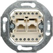 Rutenbeck UAE sockets for ISDN (western) UAE 8 (8) concealed 0, double 13010422