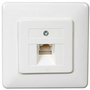 Rutenbeck UAE sockets for ISDN (western) UAE 8 (8) Up rw, 1-fach 13010245