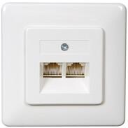 Rutenbeck UAE sockets for ISDN (western) UAE 8/8 (8/8) Up rw, double 13010247