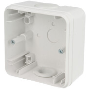 Kopp housing for DI safety socket/plug arctic white, IP44 356352013