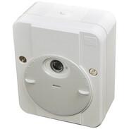 Merten dimmer switch ARGUS, polar white, with switching delay