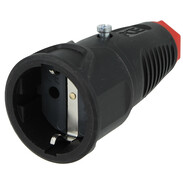 Taurus safety coupling made of solid rubber 16A 250V~ 2520SR