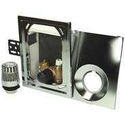 Heimeier Multibox RTL chrome-plated FM return temperature limiter9304-00.801