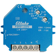 Eltako Wireless actuator impulse switch with integrated relay function FSR61-230V UC 30100005