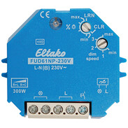 Eltako wireless actuator universal dimmer switch without N FUD61NP-230V 30100830