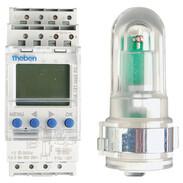 Theben LUNA 121 top2 light-sens. switch 230V~, 2600W