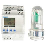 Theben LUNA 122 top2 light-sens. switch 100V - 230V, 2600 W