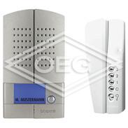 Door intercom set Linea metall SM 1x door and 1x house station 368111