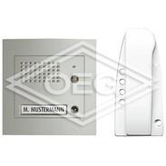 Door intercom set Sprint SFERA FM 1x door (alu) and 1x house station 313311