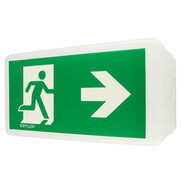 Esylux Emergency light SLB GL for wall and ceiling with symbol EN10026829