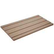 System board flow/return for underfloor heating 1,000x500x30 125 mm