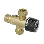 Thermostatic domestic water mixer connection Ø 15 mm