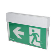 Sikora LED emergency exit sign for wall and ceilling with pictogram