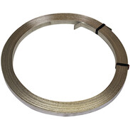 Hoop iron 3.5 mm 25 mm galvanised steel zinc-coated 500g/m²