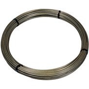 Round wire 10 mm 80 m galvanised steel zinc-coated 350g/m²