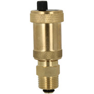 """Brass automatic air vent 1/2"""" with mounting valve slim type"""