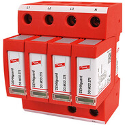 DEHNguard M surge arrester type 2 4-pole for TN-S systems