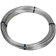 Round wire 10mm St/tZn Z350 ring length fix: 81 m
