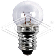 Bicycle lamp ball-shaped E10 6 V 400 mA front