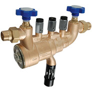 SYR backflow preventer BA DN40 with shut-off
