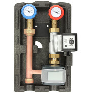 Heating circuit set mixed circuit with WHMS control and pump