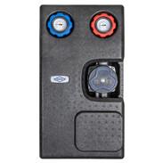 Heating circuit set unmixed circuit with pump