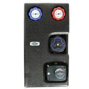 Heating circuit set mixed circuit with actuator and pump