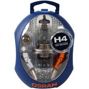 Osram spare lamp box H4 12 Volt CLKM H4 6 lamps