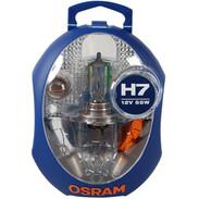 Osram spare lamp box H7 12 Volt CLKM H7 6 lamps