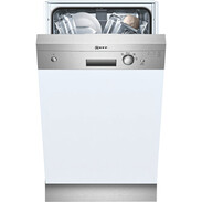 Neff GK 340N dishwasher stainless steel W:45cm EEC:A integrated 0.88 kWh/13 l S48E40N0EU