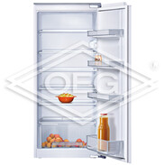 Neff KE 425A, built-in fridge, EEC: A+ 224 l, 138kWh/year, 123cm recess height K1544X7
