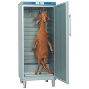 Landig game freezer LU 7000 silver,230 V internal height: 1520 mm, -5°up to +16°C