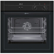 Neff BM 1542S integrated electric oven A-20%  black 8 functions