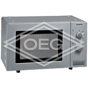 Siemens HF12M540, microwave, steel can be built under, 800 W, 24.5 cm plate HF12M540