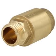 "Check valve 1/2"" ET x 1/2"" IT brass"
