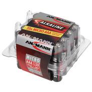 Ansmann Red Alkaline Micro AAA batteries box 5015-538
