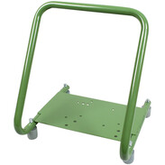 ZUWA support frame for pumps with rubber buffer