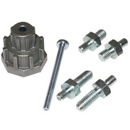 Adaptor kit for OEG actuator STM-ESM 10 Nm, for Esbe, Hoval,Olymp,Wip