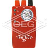 Testboy 20 passage tester Test voltage 4.5 V, stable up to 400 V
