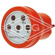 Testboy Schukoi 3A socket tester 230V, 50 Hz