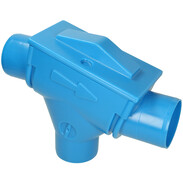 Afriso rain water filter PFD DN100 for roof areas up to 210 m²