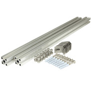 Facade mounting set 4flex up to 10 tubes