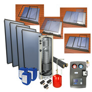 Solar package 4plus in-roof version with 4 collectors 516000435