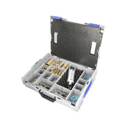 OEG FLEX quick-assembly kit in a case for corrugated pipes