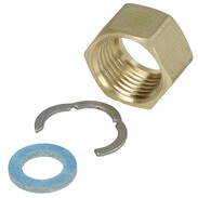 "Screw connection kit 1/2"" IT for corrugated stainless steel pipes"