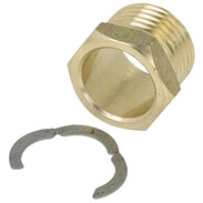"""Screw connection 1/2"""" ET for corrugated stainless steel  pipes"""