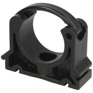 PVC pipe clip 40 mm for corrugated solar pipe DN12