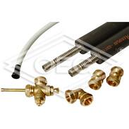 Connection set for 2 collektors DH 2,85