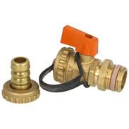 "Solar ball valve KFE 1/2"" self-sealing"